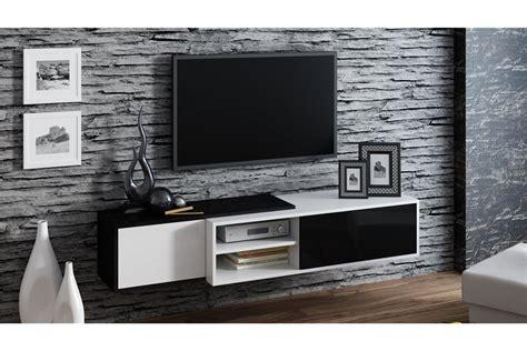 horloge design cuisine meuble tv suspendu ligna design