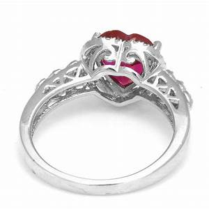jewelrypalace3ct pigeon blood red ruby engagement ring 925 With blood wedding ring