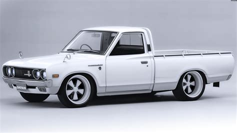 old nissan truck pin classic trucks datsun 4x4 and the rover 3500 marshal