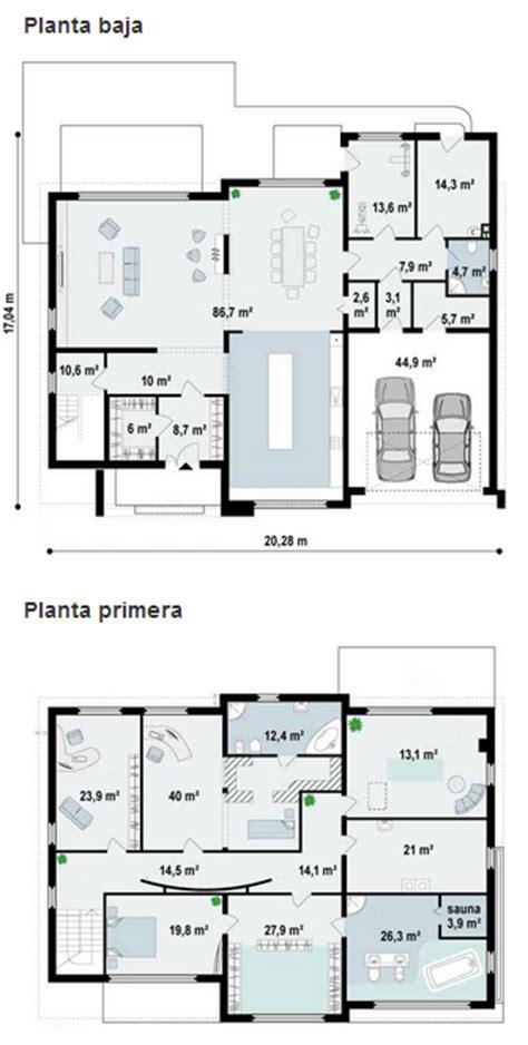 2 Pisos De Bancos En Diseños De Casas Modernas Planos De Cabañas Planos De