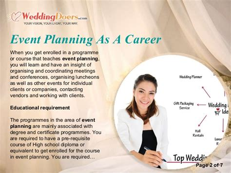 Event Planning As A Career