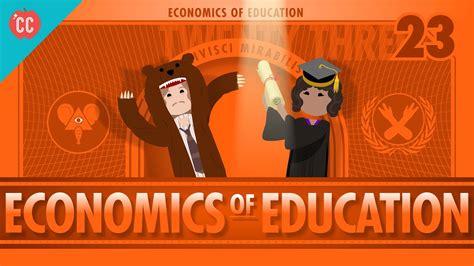 economics  education crash  economics  youtube