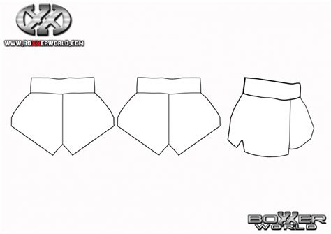 shorts template get templates boxxerworld