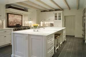 Charcoal Slate Tile Floor - Cottage - kitchen - Suellen