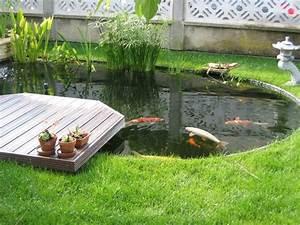 Jardin Avec Bassin : un bassin dans son jardin akoi ~ Melissatoandfro.com Idées de Décoration