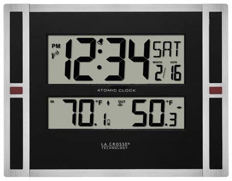 atomic desk clock clockway aqua pear castleford digital atomic wall desk