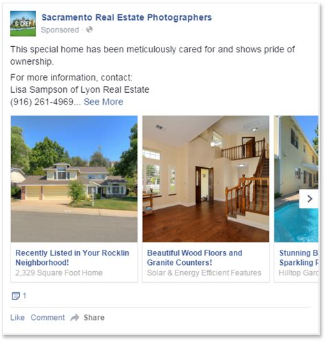 Facebook Advertising • Sacramento Real Estate Photographers
