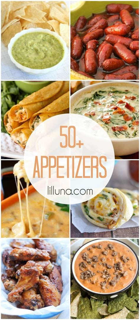 cuisine appetizer 50 appetizer recipes for all the upcoming