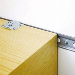 Rail De Placard : rail en acier galvanis pour l 39 accroche des l ments ~ Premium-room.com Idées de Décoration