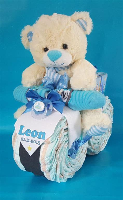 geschenke zur geburt basteln xl windel motorrad in blau geschenk geburt baby bouquet baby boy shower und baby shower