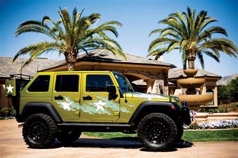 customized 4 door jeep wranglers 2007 jeep wrangler custom 4 door 39 war wagon 39 71676