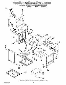 Parts For Maytag Mer8880as0  Chassis Parts