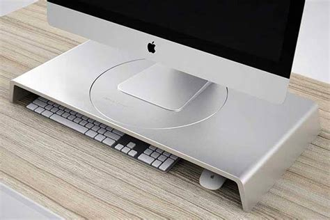 Imac Desk Mount by Imac Stand Gadgetsin