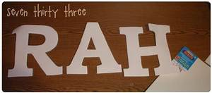 cheap and easy inspiration made simple With cheap foam letters