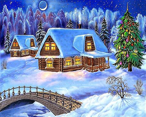 Animated Christmas Backgrounds For Computer  Best Free Hd