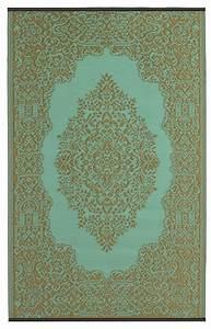 Bettwäsche Orientalisches Muster : garten im quadrat outdoor teppich istanbul t rkis wasserblau bronze orientalisches muster ~ Whattoseeinmadrid.com Haus und Dekorationen