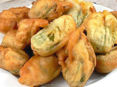 recette de cuisine courgette recettes de fleurs de courgettes et entrées