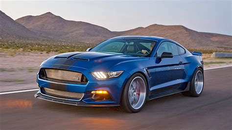 shelby unveils widebody  ford mustang concept packing