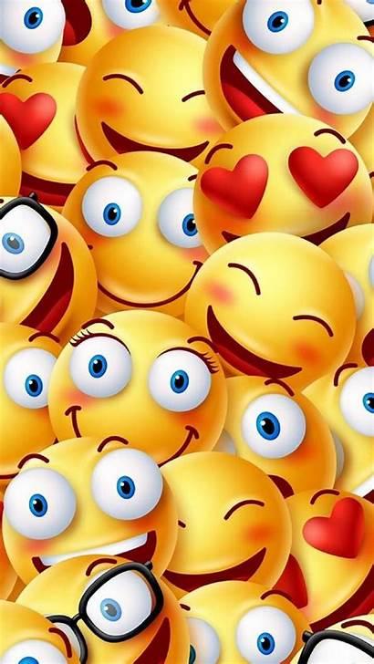Emoji Emojis Wallpapers Faces Phone Iphone Smile
