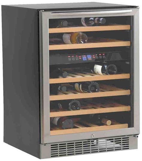 wine cooler undercounter zone dual avanti door lock capacity wooden inch shelves interior light touch digital easy slideout controls bottle