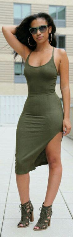 Cowl neck Olive green and Sweater dresses on Pinterest
