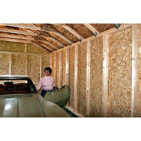 sierra  wood storage garage shed kit  pre cut