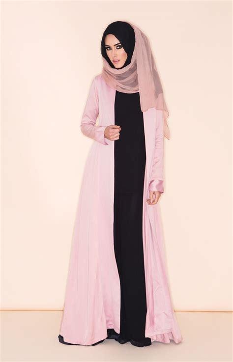perfect pink kimono aab beautiful hijab pinterest