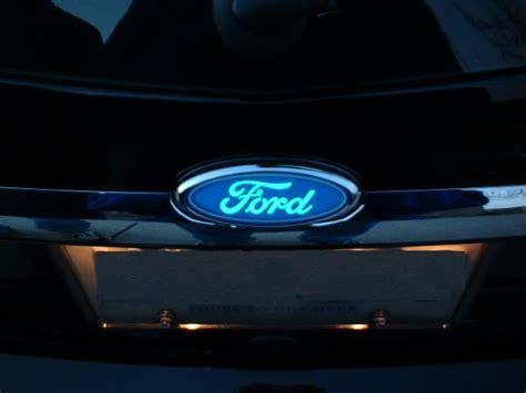 light up car emblems lighted ford front emblem autos post