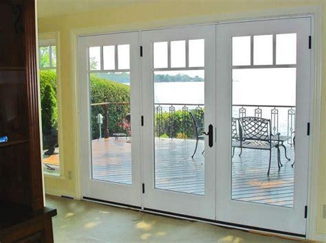 patio door patio french doors with built in blinds