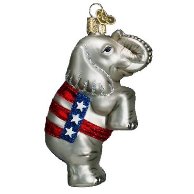 the democratic donkey and the republican elephant trendy