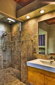 Doorless Showers And Artisan Baths For Remodels