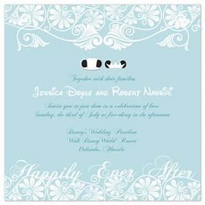 Disneyland wedding dreams disney wedding invitations for Wedding invitations to disney characters