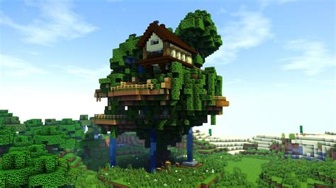 How To Build A Tree Village / Big Treehouse