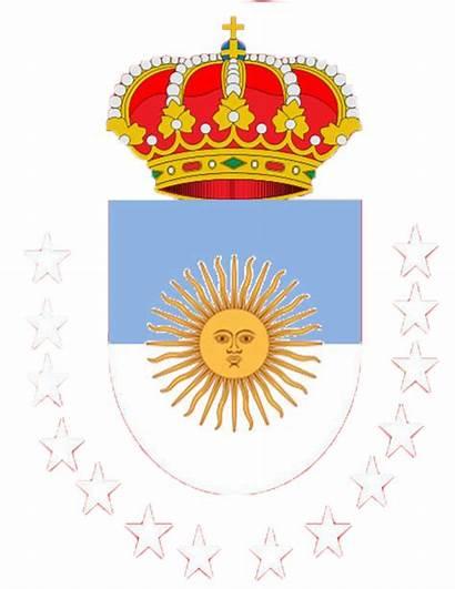 Argentina Monarquia Escudo Wikia Pixeles Althistory Archivo