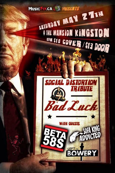 Saturday Live Sofa King by Social Distortion Tribute Bad Luck Beta 58 S Sofa King