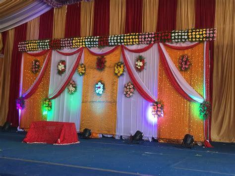 drop decorations wedding stage backdrop wedding
