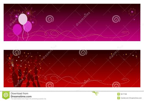 celebration banners royalty free stock image image 3577196
