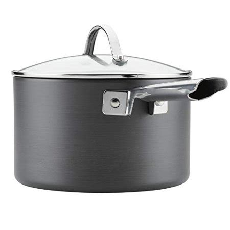 cookware anolon professional pans dishwasher anodized nonstick pots safe hard gray piece