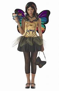 Strangeling Butterfly Masquerade Tween Costume