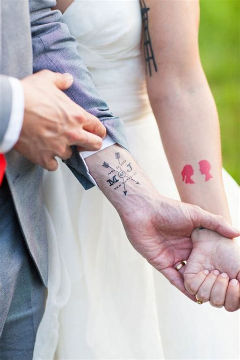 matching tattoo married couples