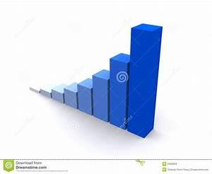 Blue Diagram Stock Illustration  Illustration Of