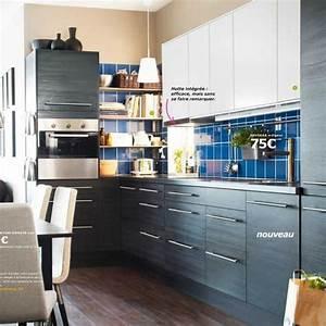 Ikea Accessoires Cuisine : elegant agrandir modle de cuisine ikea faktum gnosj noir ~ Dode.kayakingforconservation.com Idées de Décoration