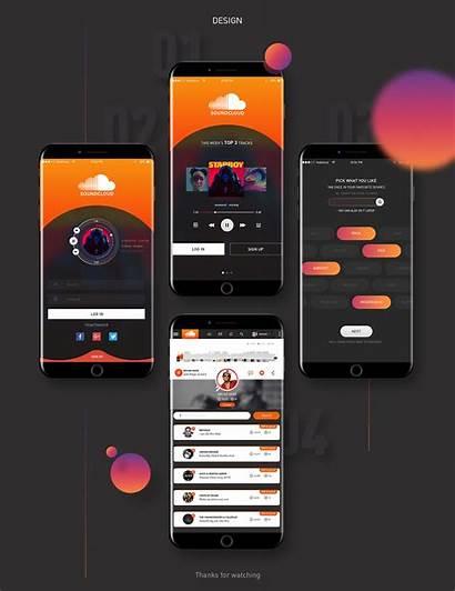 Soundcloud Ui Behance