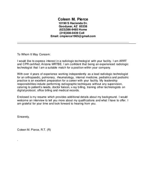 Technologist Resume And Cover Letter Templates by Sle Recommendation Letter For Technologist