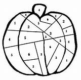 Dice Number Roll Pumpkin Tinypic Halloween Game sketch template