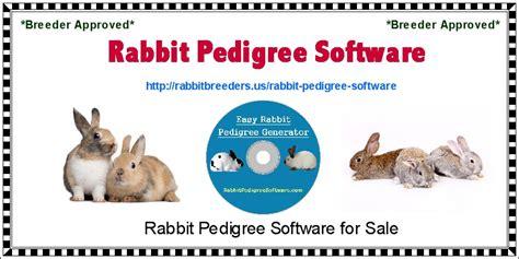 rabbit pedigree rabbit pedigree software