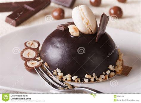 dessert avec du chocolat beau dessert g 226 teau de chocolat avec des 233 crous