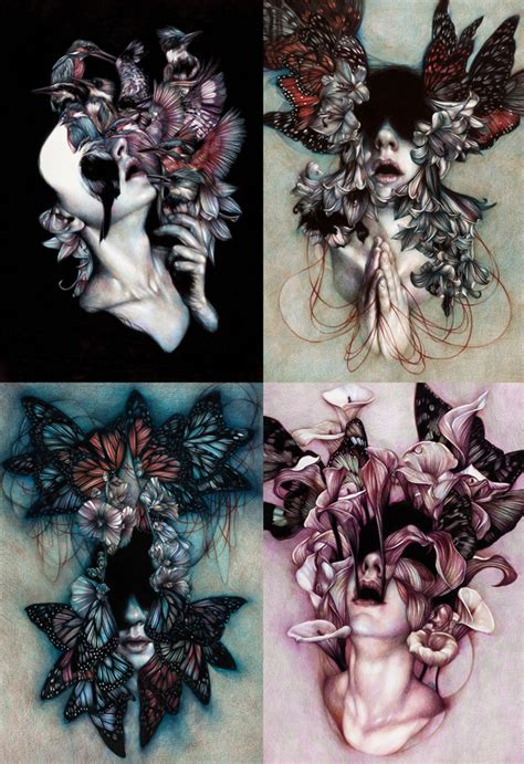 The Colored Pencil Drawings Marco Mazzoni Depict