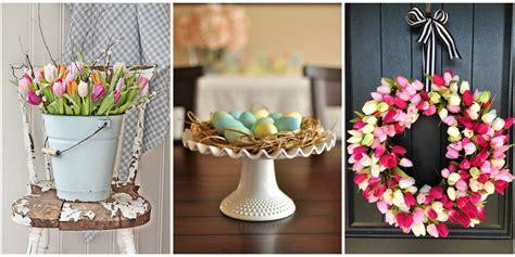 easter decoration ideas easter flower arrangements