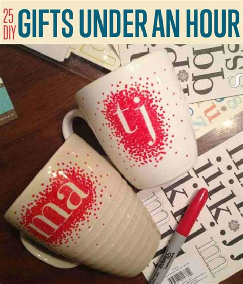 25 diy gifts you can make in under an hour diyready com easy diy crafts fun projects diy